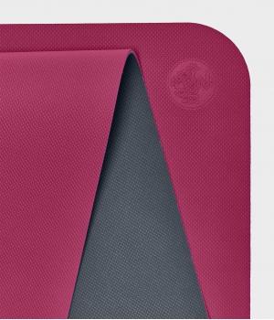 Коврик для йоги для начинающих из ТПЕ Manduka Begin Yoga Mat 172*61*0,5 см - Dark Pink