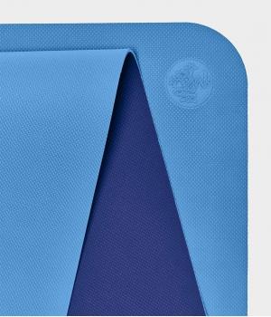 Коврик для йоги для начинающих из ТПЕ Manduka Begin Yoga Mat 172*61*0,5 см - Light Blue