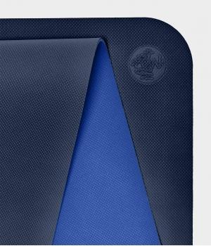 Коврик для йоги для начинающих из ТПЕ Manduka Begin Yoga Mat 172*61*0,5 см - Navy