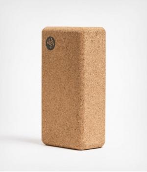 Пробковый блок для йоги Manduka 22*11*7 см - Lean Cork Block