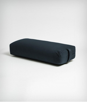 Болстер для йоги из ПЭ Manduka Enlight Rectangular Bolster 71 см - Midnight