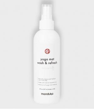 Средство для чистки любых ковриков Manduka Yoga Mat Wash and Refresh (227 мл) - Lemongrass