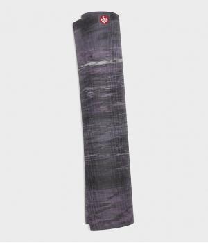 Каучуковый коврик для йоги Manduka eKO lite 180*61*0,4 см - Black Amethyst Marbled (Limited Edition)