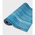 Профессиональный каучуковый коврик для йоги Manduka eKO lite 180*61*0,4 см - Dresden Blue Marbled (Limited Edition)