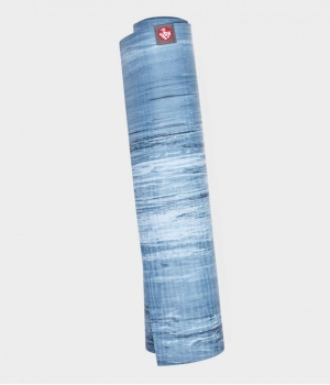 Каучуковый коврик для йоги Manduka eKO lite 180*61*0,4 см - Ebb Marbled (Limited Edition)