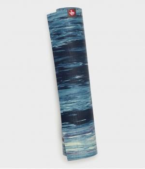 Каучуковый коврик для йоги Manduka eKO lite 180*61*0,4 см - Mint Marbled (Limited Edition)