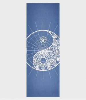 Каучуковый коврик для йоги с микрофиброй Manduka Equa 172*61*0,4 см - Yindala Odyssey