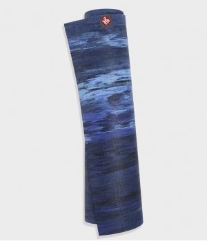 Каучуковый коврик для йоги Manduka eKO 180*61*0,5 см - Surf Marbled