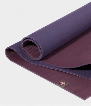 Каучуковый коврик для йоги Manduka eKO 206*61*0,6 см - Acai Midnight (Limited Edition)