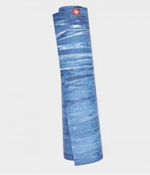 Каучуковый коврик для йоги Manduka eKO 180*61*0,6 см - Ebb Marbled