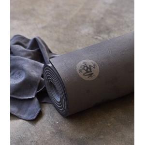 Каучуковый коврик для йоги Manduka GRP 180*66*0,6 см - Steel Grey