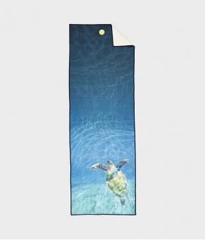 Полотенце для йоги Manduka Yogitoes Yoga Towel - Turtle Sea