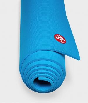 Коврик для йоги из ПВХ Manduka The PRO Mat 180*66*0,6 см - Dresden Blue (Limited Edition)