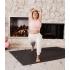 Большой коврик для йоги из ПВХ Manduka PRO Extra Large 200*132*0,6 см - Black