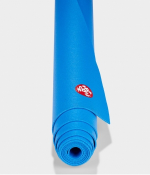 Коврик для йоги из ПВХ Manduka PRO Travel 180*61*0,25 см - Be Bold Blue(Limited Edition)