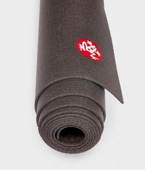 Коврик для йоги из ПВХ Manduka PRO Travel 200*61*0,25 см - Black (Limited Edition)