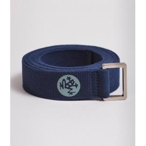 Ремень для йоги Manduka Unfold Yoga Strap 183*3,2 см - Midnight