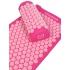 Набор: массажный коврик и валик Comfox - Розовый