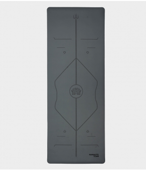 Каучуковый коврик с покрытием Non-Slip Namaste Team 183*68*0,5 см - Gray