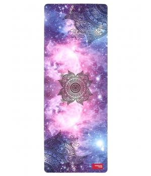 Каучуковый коврик с покрытием из микрофибры Namaste Team 183*68*0,4 см - Cosmic Sky