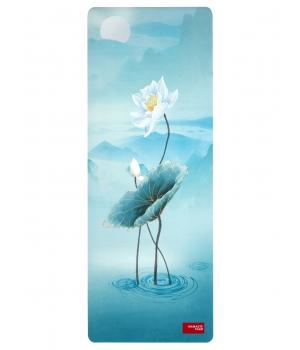 Каучуковый коврик с покрытием из микрофибры Namaste Team 183*68*0,4 см - Water Lily