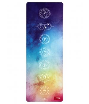 Каучуковый коврик с покрытием из микрофибры Namaste Team 183*68*0,4 см - Chakras