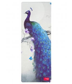 Каучуковый коврик с покрытием из микрофибры Namaste Team 183*68*0,4 см - Peacock