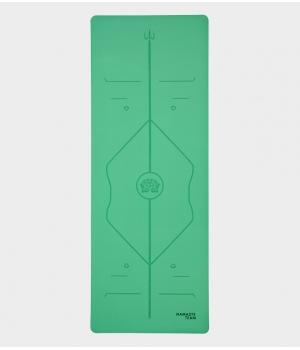 Каучуковый коврик с покрытием Non-Slip Namaste Team 183*68*0,5 см - Green