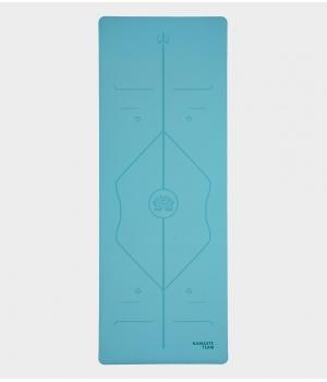 Каучуковый коврик с покрытием Non-Slip Namaste Team 183*68*0,5 см - Blue