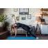 Каучуковый коврик для йоги Salamander Optimum 185*60*0,4 см - Голубой