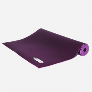 Каучуковый коврик для йоги Salamander Optimum 185*60*0,4 см - Фиолетовый