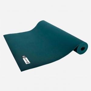 Каучуковый коврик для йоги Salamander Comfort 200*60*0,6 см - Изумруд