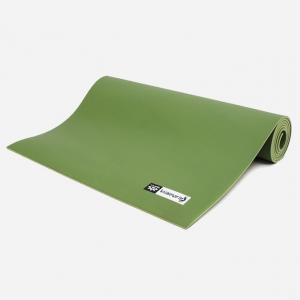Каучуковый коврик для йоги Salamander Comfort 200*60*0,6 см - Зеленый