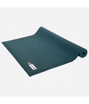 Каучуковый коврик для йоги Salamander Slim 185*60*0,2 см - Изумрудный