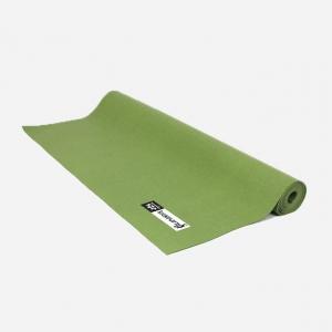 Каучуковый коврик для йоги Salamander Slim зеленый 185*60*0,2 см