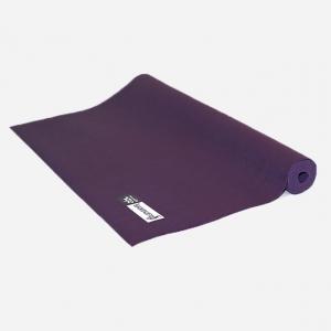 Каучуковый коврик для йоги Salamander Slim фиолетовый 185*60*0,2 см