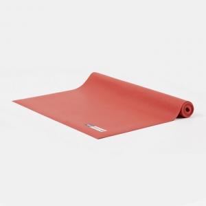 Каучуковый коврик для йоги Salamander Slim красный 185*60*0,2 см