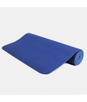 Коврик для йоги Shakti синий 183*60*0,4 см