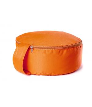 """Подушка для медитации """"Spiritual"""" 30см 15см оранжевая"""