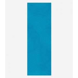 Каучуковый коврик для йоги с покрытием Non-slip POSA NonSlipPro 183*61*0,35 - Concord Blue