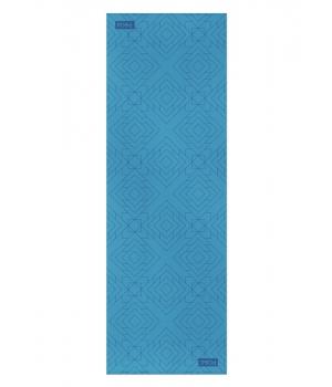 Каучуковый коврик для йоги с покрытием Non-slip POSA NonSlipPro 183*61*0,35 - Direction Blue