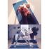 Каучуковый коврик с покрытием Non-slip POSA NonSlipPro 183*61*0,35 - Direction Blue