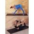 Каучуковый коврик с покрытием Non-slip POSA NonSlipPro 183*61*0,35 - Accord Black