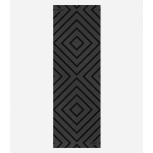 Каучуковый коврик для йоги с покрытием Non-slip POSA NonSlipPro 183*61*0,35 - Accord Black