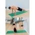 Каучуковый коврик с покрытием Non-slip POSA NonSlipPro 183*61*0,35 - Ripple Green