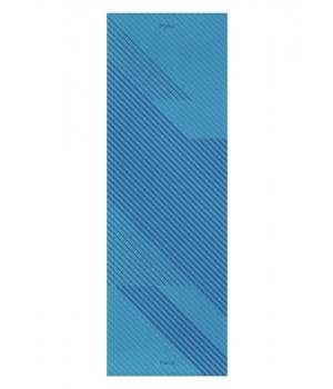 Каучуковый коврик для йоги с покрытием Non-slip POSA NonSlipPro 183*61*0,35 - Sprint Blue