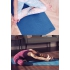 Каучуковый коврик с покрытием Non-slip POSA NonSlipPro 183*61*0,35 - Strings Blue