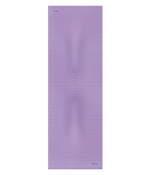 Каучуковый коврик для йоги с покрытием Non-slip POSA NonSlipPro 183*61*0,35 - Strings Purple
