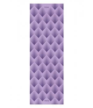 Каучуковый коврик для йоги с покрытием Non-slip POSA NonSlipPro 183*61*0,35 - Taiga Purple
