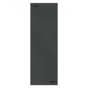 Каучуковый коврик для йоги с покрытием Non-slip POSA NonSlipTravel 183*61*0,15 - Plain Black